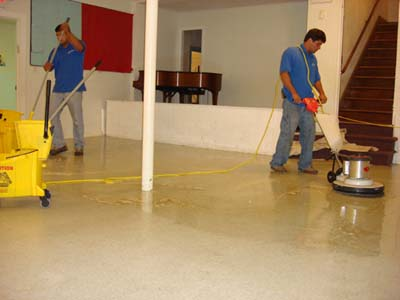 Boston Commercial Cleaning Services Save Your Old Floor